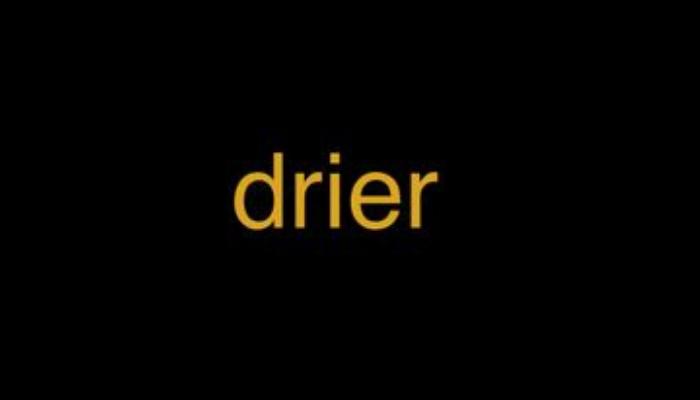 drier